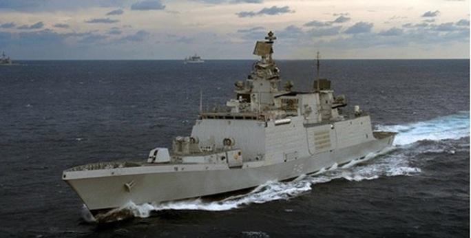 Tàu Hải quân Ấn Độ thăm thành phố Hải Phòng - Ảnh 1.