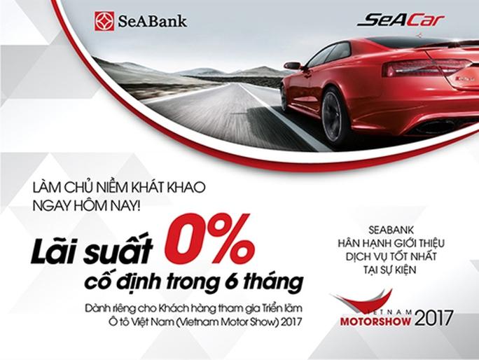 SeABank cho vay trực tiếp tại Triển lãm Vietnam Motorshow 2017 - Ảnh 2.