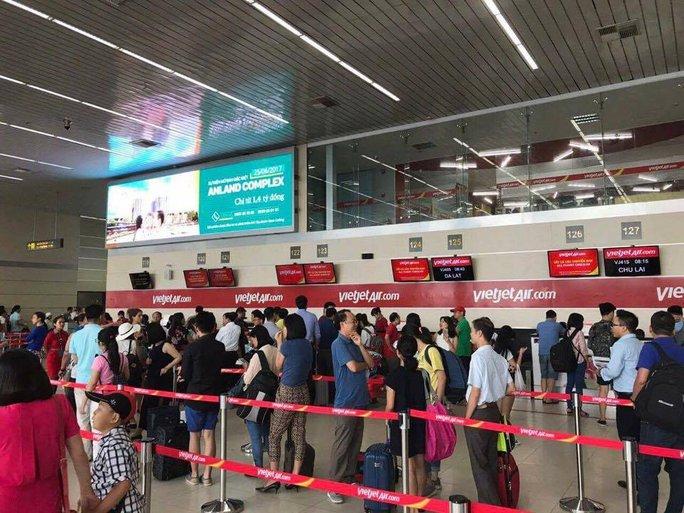 Bác thông tin đình công gây chậm chuyến bay ở Nội Bài - Ảnh 1.