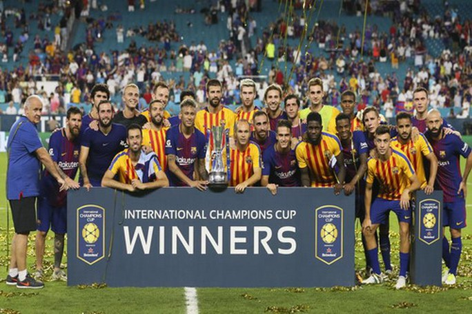 Thắng siêu kinh điển, Barcelona vô địch trên đất Mỹ - Ảnh 8.