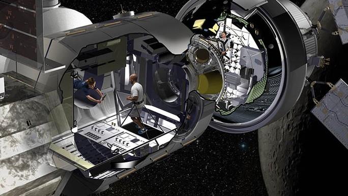 Tân trang container thành nơi sống trong vũ trụ - Ảnh 1.