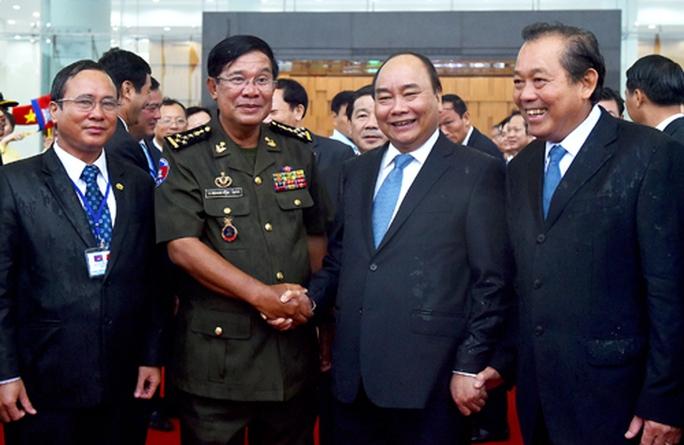 Thủ tướng Hun Sen tri ân sâu sắc những hy sinh của Việt Nam - Ảnh 1.