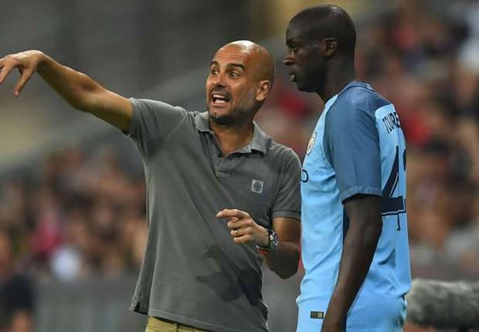 Yaya Toure ngày càng được Guardiola trọng dụng
