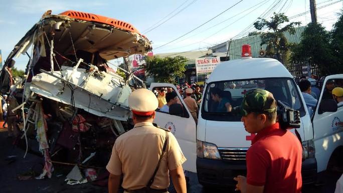 Vụ tai nạn kinh hoàng ở Gia Lai: Xe tải chạy 105 km/giờ - Ảnh 2.
