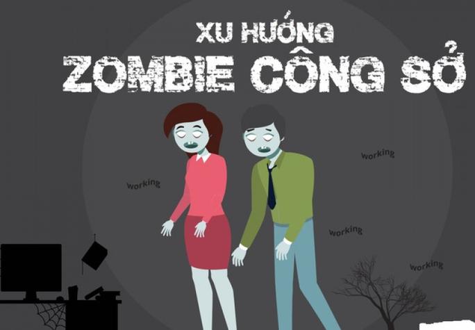 """""""Zombie công sở"""" - Ảnh 1."""