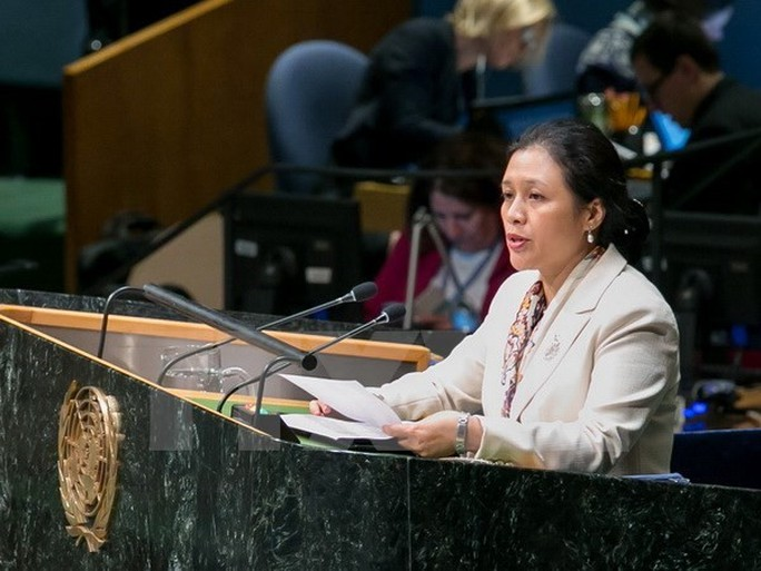 Đại sứ Nguyễn Phương Nga nêu vấn đề Biển Đông tại Uỷ ban Pháp lý LHQ - Ảnh 1.