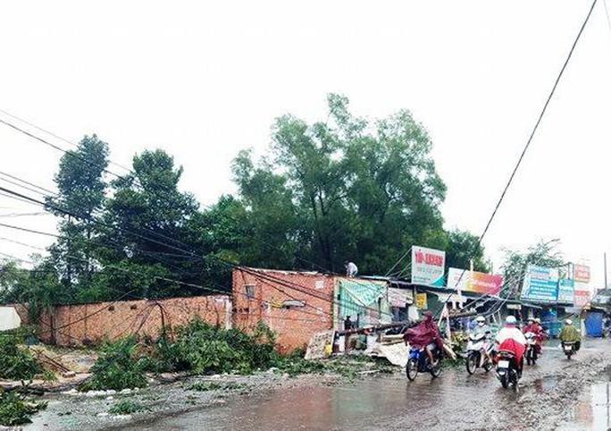 Ảnh hưởng bão số 14, nhiều nơi ở TP HCM thiệt hại nặng - Ảnh 1.
