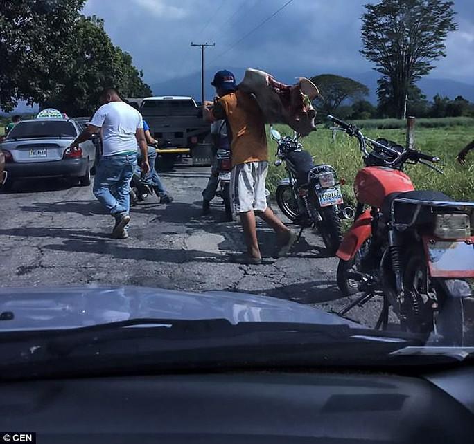 Venezuela: Người dân ném chết gia súc để lấy cái ăn - Ảnh 3.