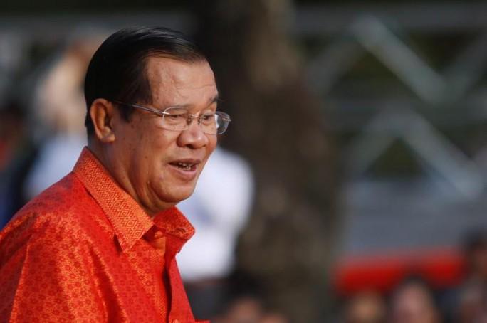 Con rể ông Hun Sen làm phó giám đốc cảnh sát Campuchia - Ảnh 2.