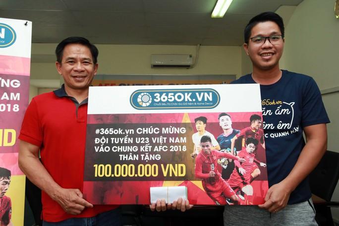 TP HCM thưởng nóng U23 Việt Nam 2 tỉ đồng - Ảnh 1.