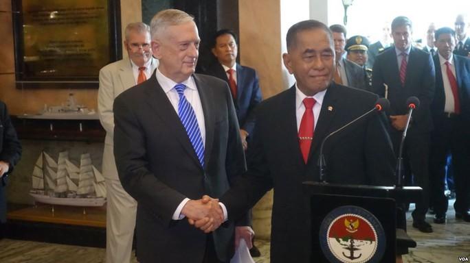 Mỹ ủng hộ Indonesia đổi tên một phần biển Đông - Ảnh 1.