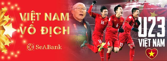 Một loạt ngân hàng tặng thêm lãi suất cho các tuyển thủ U23 - Ảnh 1.