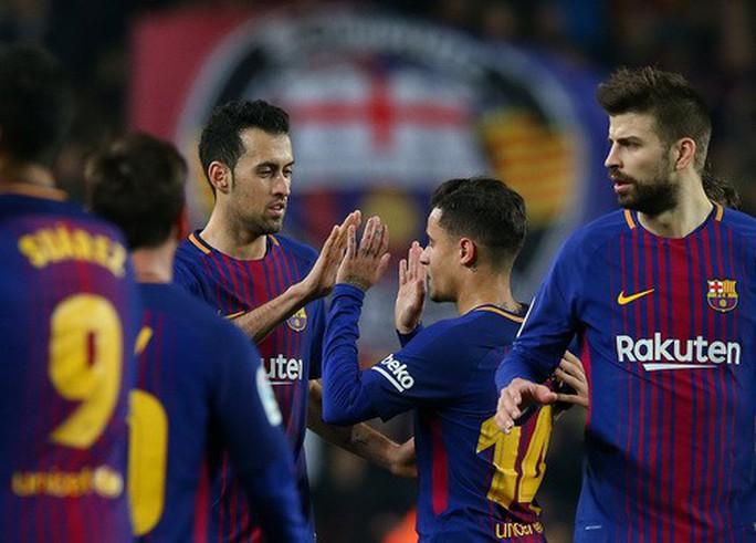 Coutinho chào sân Nou Camp, Barcelona giành vé bán kết Cúp Nhà vua - Ảnh 6.