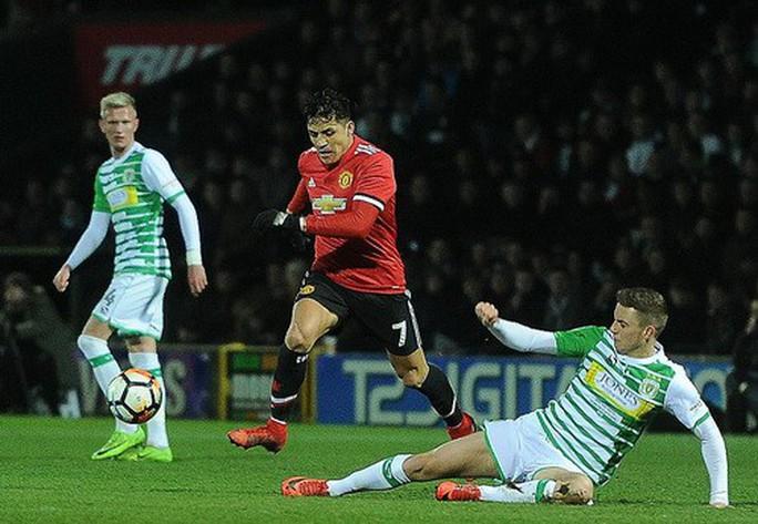 Sanchez ra mắt ấn tượng, Man United giành vé vòng 5 FA Cup - Ảnh 2.