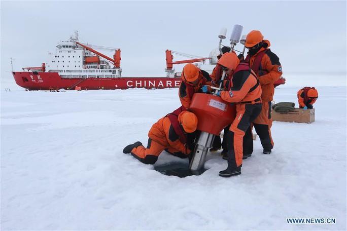 Trung - Nga liên thủ ở Bắc Cực - Ảnh 1.