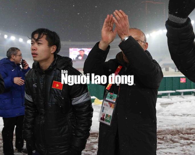 HLV Park Hang Seo: U23 Việt Nam hãy ngẩng cao đầu! - Ảnh 1.
