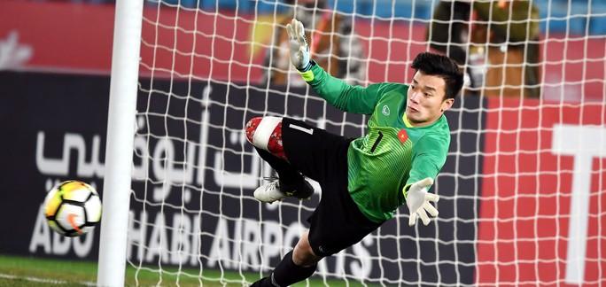 U23 Việt Nam có 2 cầu thủ vào đội hình tiêu biểu U23 châu Á - Ảnh 1.