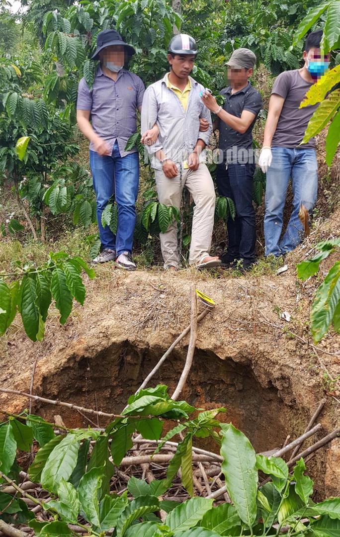 Bắt khẩn cấp nghi phạm giết người chôn xác phi tang ở Lâm Đồng - Ảnh 3.