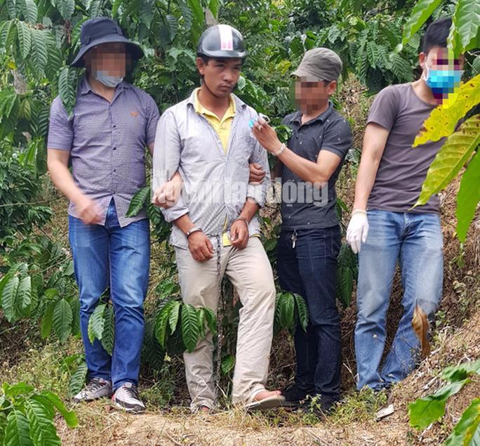 Bắt khẩn cấp nghi phạm giết người chôn xác phi tang ở Lâm Đồng - Ảnh 1.