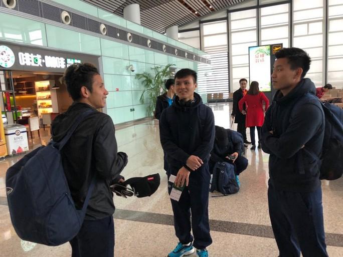 U23 Việt Nam bắt đầu hành trình về nước - Ảnh 2.