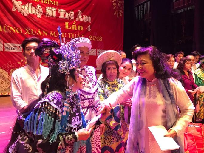 NSND Kim Cương dốc hết sức cho chương trình Nghệ sĩ tri âm - Ảnh 1.