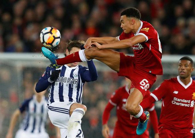 Liverpool thua sốc West Brom, dừng bước sớm FA Cup - Ảnh 2.