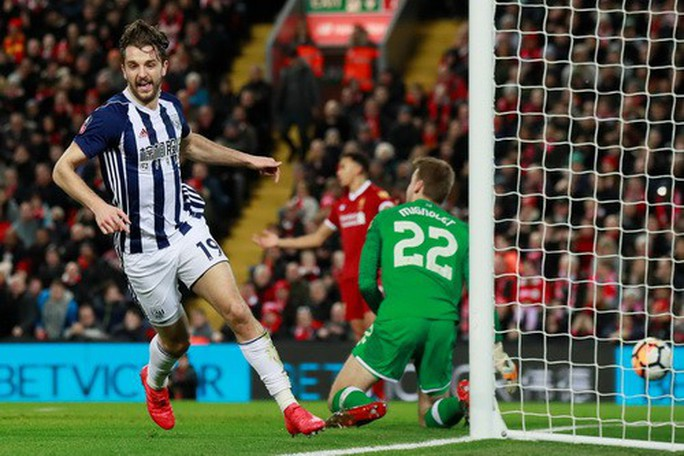 Liverpool thua sốc West Brom, dừng bước sớm FA Cup - Ảnh 4.
