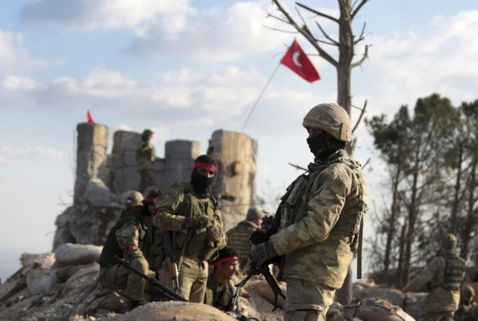 Thổ Nhĩ Kỳ lấn tới  ở Syria - Ảnh 1.