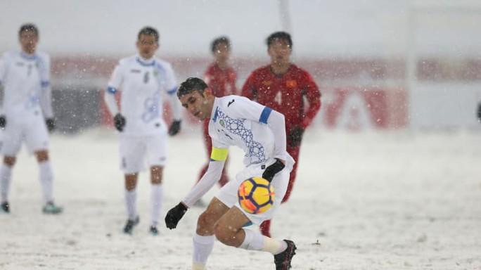 U23 Việt Nam có 2 cầu thủ vào đội hình tiêu biểu U23 châu Á - Ảnh 10.