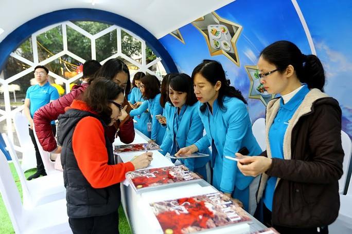 Không gian văn hoá cổ truyền được Vietnam Airlines tái tạo giữa lòng thủ đô
