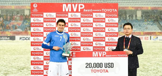 U23 Việt Nam có 2 cầu thủ vào đội hình tiêu biểu U23 châu Á - Ảnh 6.