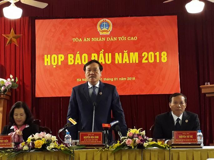 Chánh án TAND Tối Cao: Phiên tòa ông Đinh La Thăng có nhiều thành công - Ảnh 1.