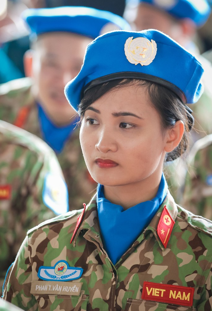 Những bóng hồng quân y Việt Nam sang châu Phi gìn giữ hòa bình - Ảnh 8.