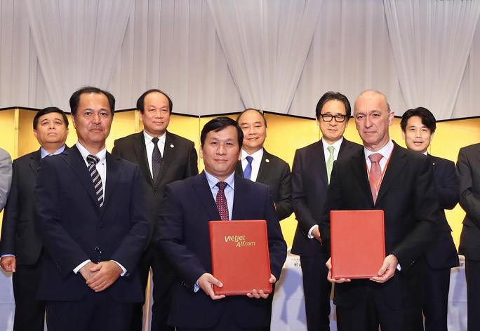 Vietjet mở 3 đường bay tới Nhật, ký thoả thuận 1,225 tỉ USD phát triển đội máy bay - Ảnh 1.