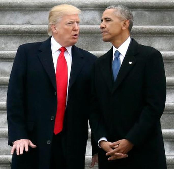 Tổng thống Trump chê ông Obama vụ biển Đông - Ảnh 1.