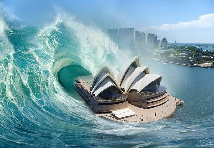 """Cảnh báo sóng thần """"quái vật"""" tấn công bờ biển Úc - Ảnh 1."""
