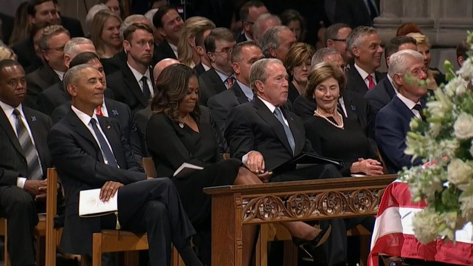 Bà Obama trải lòng về đồng phạm tội lỗi - Ảnh 1.