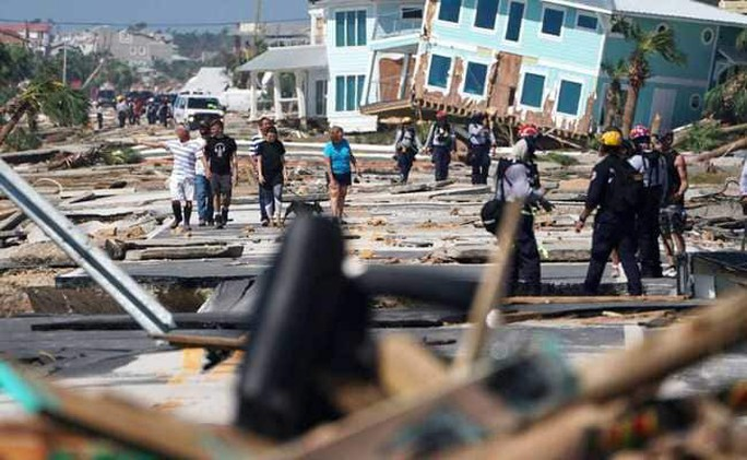 Mỹ: Bão Michael trút thiệt hại không thể tưởng tượng xuống Florida - Ảnh 3.