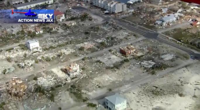 Mỹ: Bão Michael trút thiệt hại không thể tưởng tượng xuống Florida - Ảnh 10.
