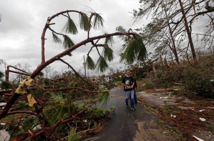 Mỹ: Bão Michael trút thiệt hại không thể tưởng tượng xuống Florida - Ảnh 8.