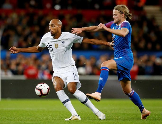 Nhà vô địch World Cup Pháp suýt bị Iceland hạ đo ván sân nhà - Ảnh 2.
