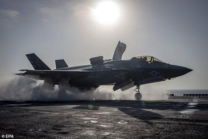Mỹ ngừng bay toàn bộ chiến đấu cơ F-35 - Ảnh 1.
