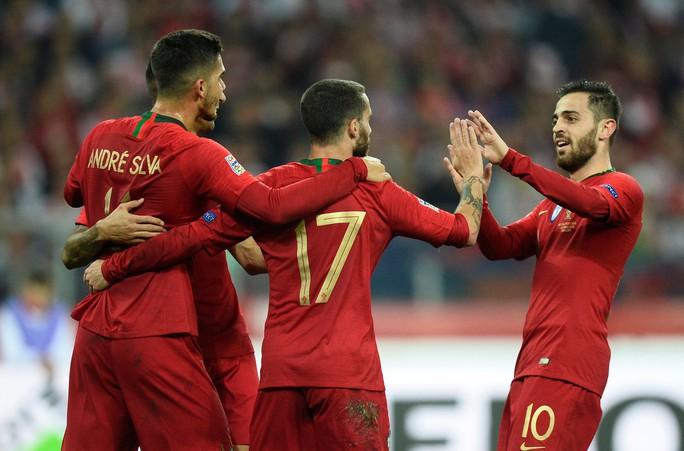 Chấp Ronaldo, Bồ Đào Nha đại thắng Ba Lan ở Nations League - Ảnh 3.