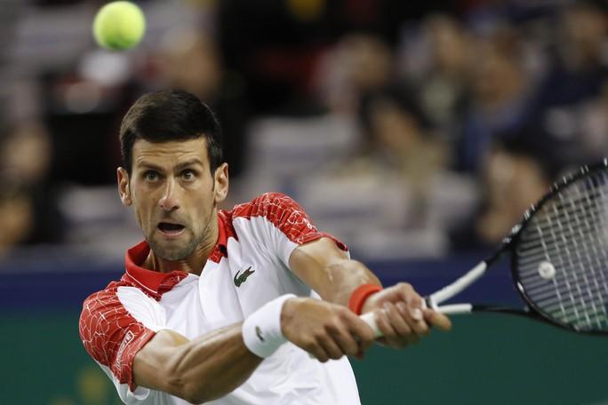 Clip Djokovic vô địch tại Thượng Hải, đoạt danh hiệu Masters thứ 32 - Ảnh 2.