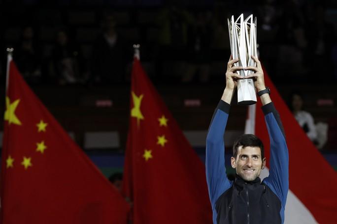 Clip Djokovic vô địch tại Thượng Hải, đoạt danh hiệu Masters thứ 32 - Ảnh 5.