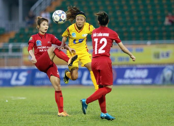 Phong Phú Hà Nam thắng TP HCM 1, lần đầu vô địch bóng đá nữ Việt Nam - Ảnh 2.