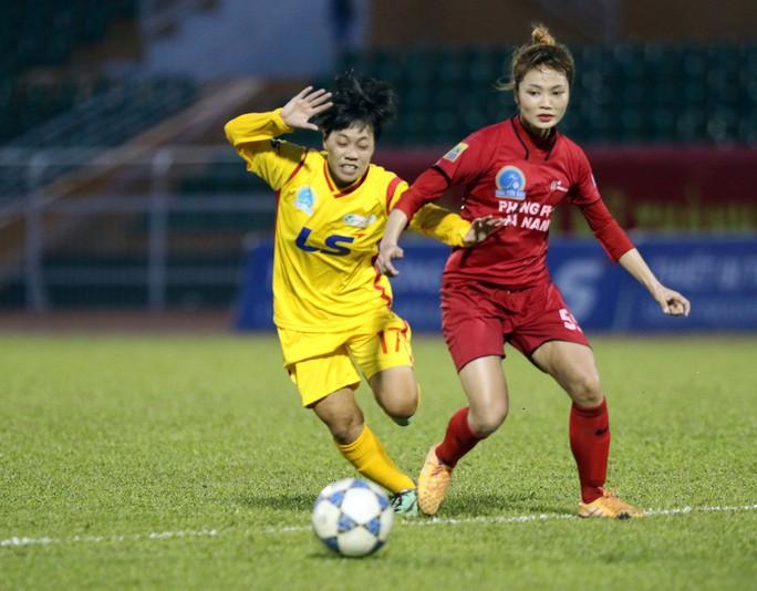 Phong Phú Hà Nam thắng TP HCM 1, lần đầu vô địch bóng đá nữ Việt Nam - Ảnh 1.