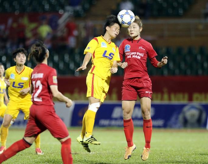 Phong Phú Hà Nam thắng TP HCM 1, lần đầu vô địch bóng đá nữ Việt Nam - Ảnh 4.