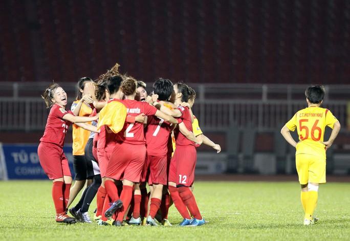 Phong Phú Hà Nam thắng TP HCM 1, lần đầu vô địch bóng đá nữ Việt Nam - Ảnh 8.