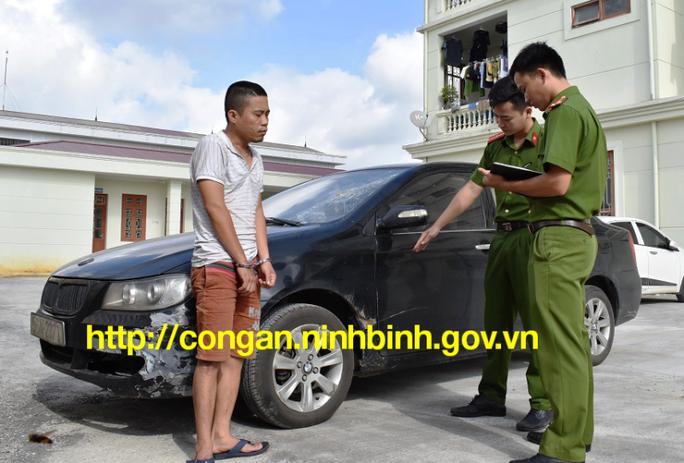 Trộm xế hộp từ Tiền Giang phóng ra Ninh Bình trộm cắp tiếp - Ảnh 1.